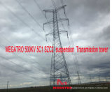 Torretta della trasmissione della sospensione di Megatro 500kv 5c1 Szc2