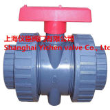 손잡이 PVC 공 벨브 PVC 두 배 확실한 조합 공 벨브