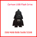 Mecanismo impulsor del flash del USB de la historieta del USB Pendrive de Customed del disco de U