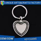 Anelli chiave personalizzati marchio del metallo di prezzi all'ingrosso