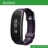 """0.86 de """" frequências cardíacas OLED que monitoram o bracelete esperto"""