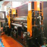 거대한 3 롤러 Hydrulic CNC/PLC 통제 격판덮개 회전 기계