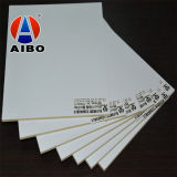 Hoja plástica del PVC WPC de la tarjeta blanca de la espuma de la alta calidad para la tarjeta de los muebles