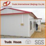 Stahlkonstruktion-bewegliches/bewegliches/Fertiggebäude für Aufbau-lebendes Haus
