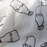 قطن موسلين يقمط غطاء في [برينت.] مختلفة