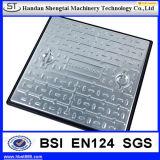 鋳鉄の正方形のマンホールカバーC250 D400
