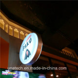 Publicidade LED Sign Round Vacuum Forming Light Box