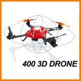 ライトが付いているQuadcopter屋外のRTFを転送している専門家2.4G 6CH 400 3D