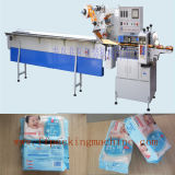 Automatic pieno Baby Wipes Horizontal Flow Wrapper per Promotion Package