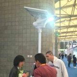 свет проекта сада уличного фонаря 15-80W солнечный СИД с датчиком движения