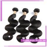 Выдвижение человеческих волос Remy девственницы объемной волны бразильское волнистое