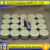 Unscented al por mayor presionado velas de 14G Tealight