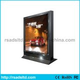 Outdoor alumínio Scrolling Light Box