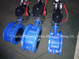Пневматический сработанный тип клапан-бабочка вафли с ISO Ce одобряет