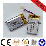 Großhandels-Soem 3.7V Lithium Polymer Battery 522438 400mAh für Speaker Digitalkamera-Unterhaltungselektronik-MP3-Player MP4 Player