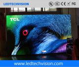 Muestra de la televisión LED de P2.5mm para fijo en departamento con franquicia del aeropuerto