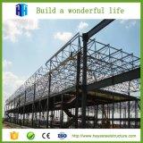O edifício da construção de aço verteu armazém pré-fabricado do frame de aço