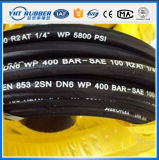 SAE 100 R2at/DIN/En 853 2sn Hydraulic Rubber Hose