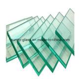 vidro de flutuador do espaço livre de 6mm (para a finalidade da construção)