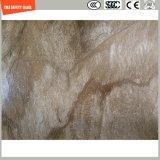 Impression de Silkscreen de la qualité 3-19mm/gravure à l'eau forte acide/configuration givré/de configuration sûreté gâchée/verre trempé pour le mur/partition de meubles avec SGCC/Ce&CCC&ISO