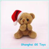 Feliz Natal Bear Keychain de 10cm Keychains