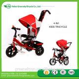 Das 2017 scherzt neues Kind-Baby-Dreirad/billig Preis Metalldreirad mit Dreirad des Rücksitz-/3 Räder für Kinder