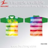 Healong Sportswear Custom Sublimation Custom Men's Polo T Shirt