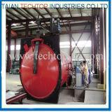 複合材料を治すための2800X8000mm ASMEの公認の産業オートクレーブ