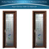 Portelli di alluminio della stanza da bagno dei portelli della stoffa per tendine dei portelli interni