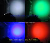 Iluminação principal movente do estágio do disco do diodo emissor de luz da lavagem da microplaqueta 37*9W de Epistar