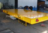 Carro con pilas de la carga pesada de la transferencia del carril