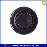 18mmの保護明確な帽子によってガラスビンに合う黒いプラスチックローションポンプ