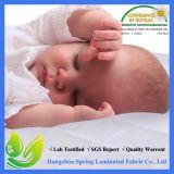 Alfombra de bambú Terry tela impermeable bebé colchón de colchón