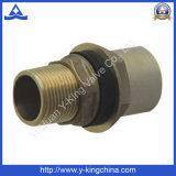 Ajustage de précision en laiton de couplage de connecteur mâle de qualité (YD-6021)