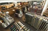 Luxuxwein-Flaschen-Zahnstangen-Bildschirmanzeige-Regal-Ausstellungsstand anpassen