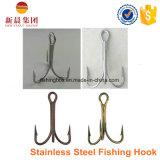 Amo di pesca d'argento di Trebel dell'acciaio inossidabile di colore 9617