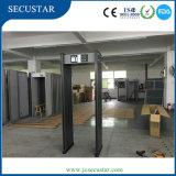 18 de Detector van het Metaal van de Veiligheid van de Streek van de opsporing met het LEIDENE Licht van het Alarm aan de Kanten van de Deur