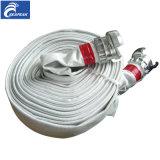 Разный вид выровнянный PVC пожарного рукава C/W соединение