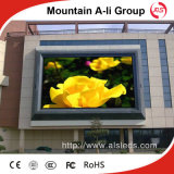 pantalla de visualización publicitaria a todo color al aire libre de LED de pH6 P6 SMD
