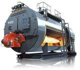 Wns horizontales Gas-ölbefeuerter heißer thermischer Öl-Dampfkessel