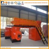 Type creux solide machine de brique pour l'argile