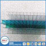 Лист поликарбоната строительных материалов предохранения от дождя потолка украшения