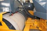 Rodillo de camino doble hidráulico lleno del tambor de 12 toneladas (JM812HC)