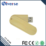 Azionamento di legno all'ingrosso chiave dell'istantaneo del USB del USB di marchio su ordinazione promozionale del regalo 2017, bastone di legno 8GB, 16GB, 32GB di memoria