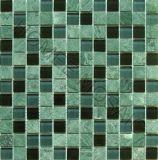 Tuiles de mosaïque - mélange en verre de vert de mosaïque de Glasstone de tuile de mosaïque (GS12)
