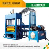 Flugasche-automatische Straßenbetoniermaschine-Ziegeleimaschine mit großer Produktionskapazität (QT4-15C)