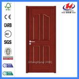Portas internas do carvalho do folheado das portas do carvalho das portas interiores do painel Jhk-004 4