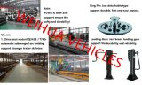 Tri-Wellen Fuwa Marken-Seiten-Kipper-LKW-Schlussteil des Sattelschleppers