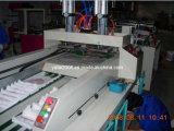 Linha dobro automática saco do t-shirt que faz a máquina (ZDFR-400*2)