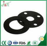 Gaxeta de borracha lisa redonda de FKM para a selagem e a proteção
